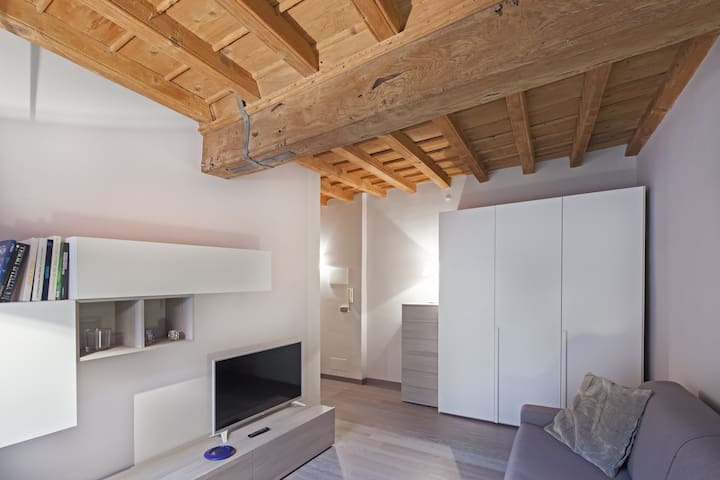 NICE NEW APARTMENT IN THE HEART OF OLD CITY. - Cuneo - Apartamento