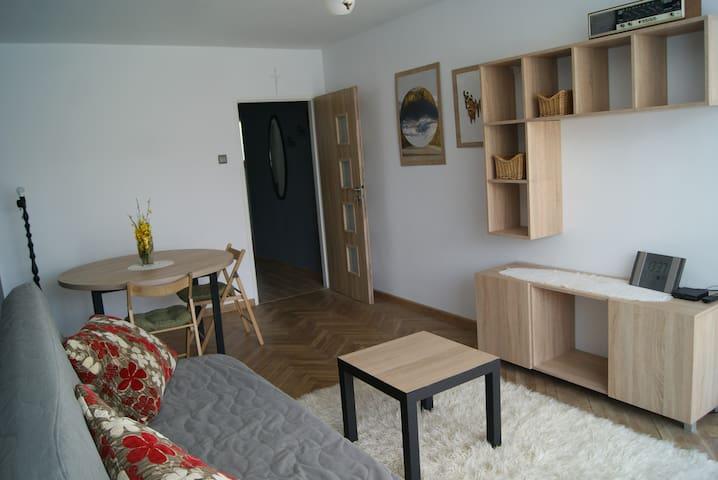 Apartament w kultowym falowcu na Przymorzu