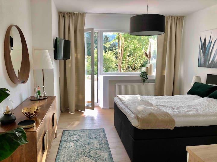 Moderne neue Apartments im Schwarzwald
