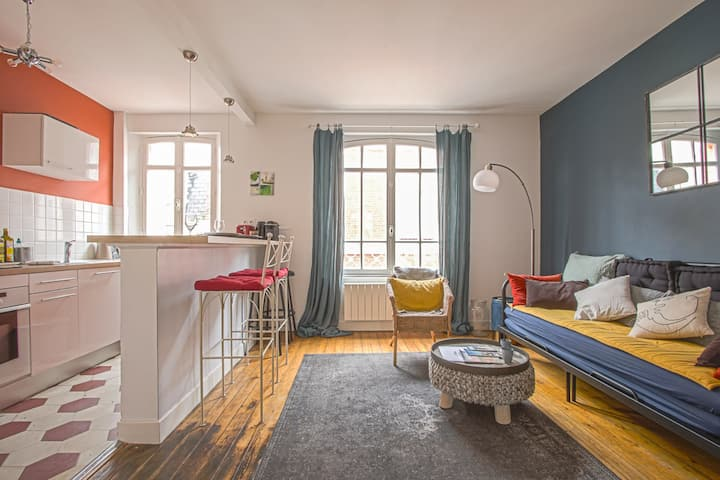 NICE APARTMENT IN TROUVILLE SUR MER, HYPER CENTER