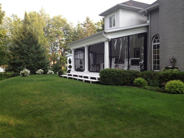 Arrière cour Backyard