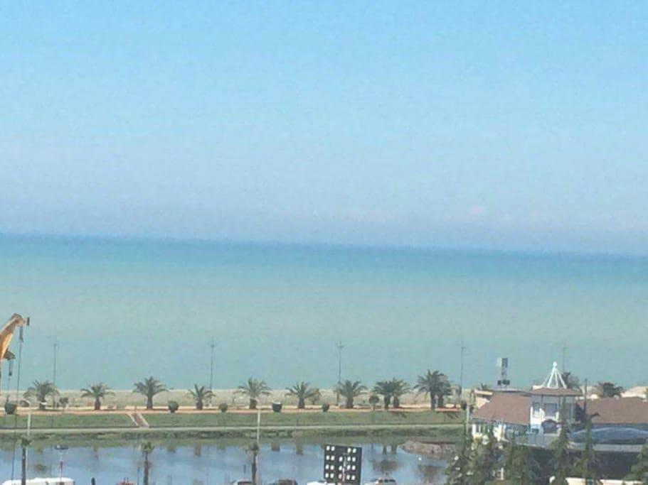 Vid na more