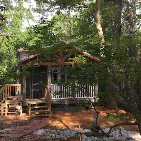 Twin Oaks Tiny House - Ocean Springs - Inap sarapan
