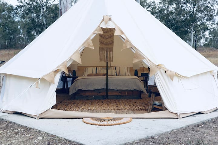 Private Farm Glamping between Gin Gin & Childers