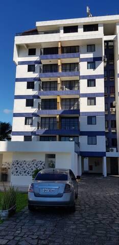 Apartamento mobiliado vista Mar praia do poço