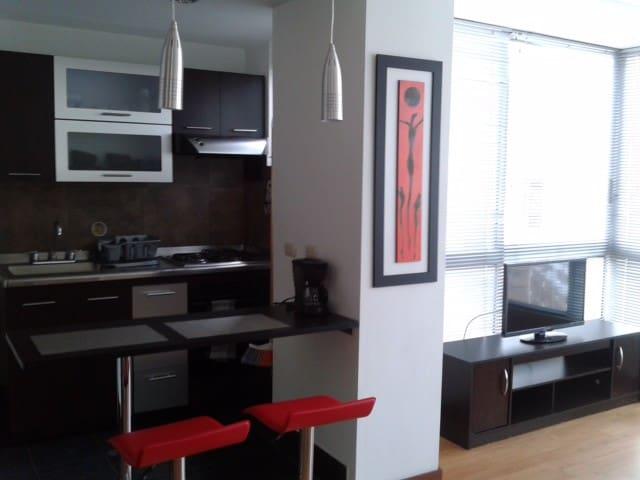 Apartaestudio ,Moderno Loft - Gran Ubicación.