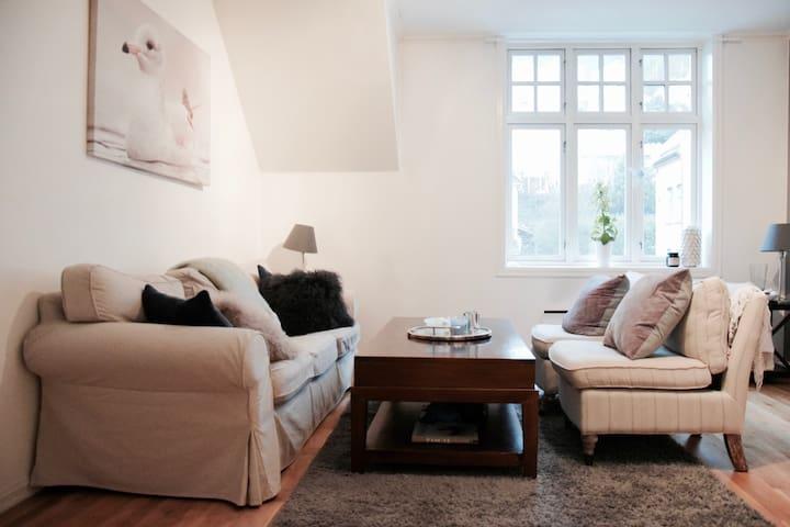 Cozy Central 2BR Apartment - Bergen - Lägenhet