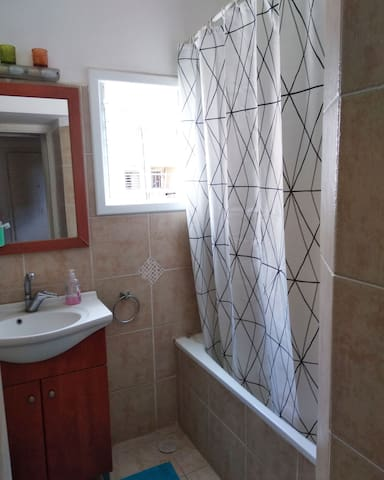 Renovated shower room