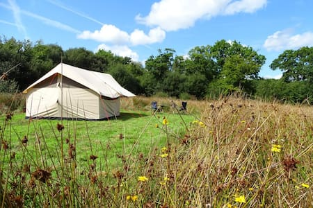 TAKING SPRING BOOKINGS - Stonechat Meadow Glamping