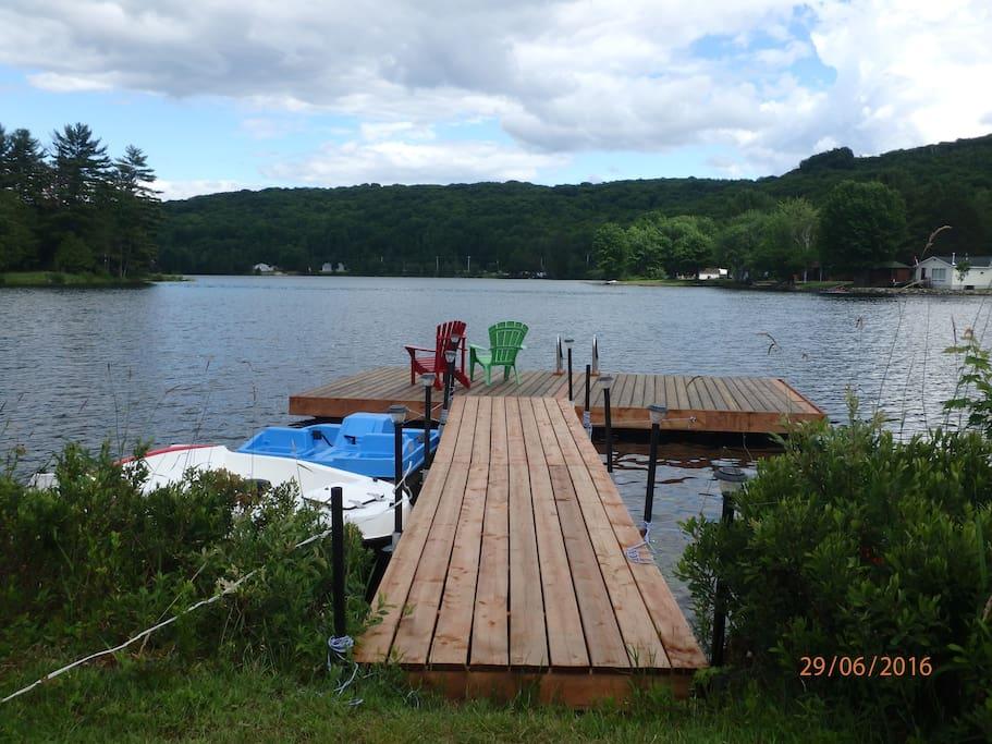 Dock & boats