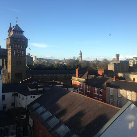 Superb City Centre Apartment - Cardiff - Pis