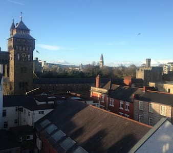 Superb City Centre Apartment - Cardiff - Daire