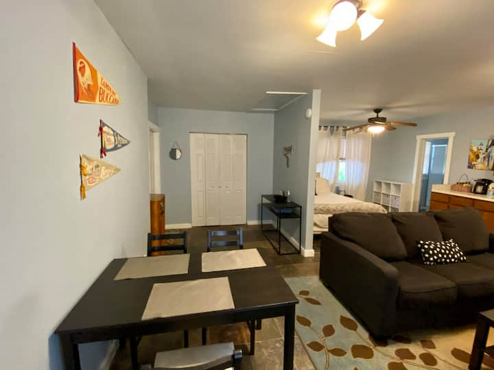 Seminole Heights Apt, Minutes to Ray Jay Stadium!