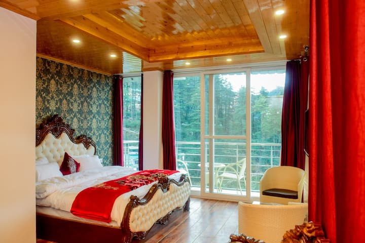 2 Luxury Room on one Floor Balcony | Serene View