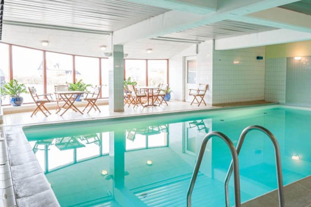 Swimming pool, du kan svømme i