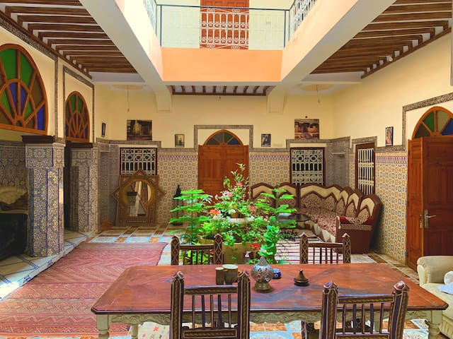 Riad itry (Private room, two beds)