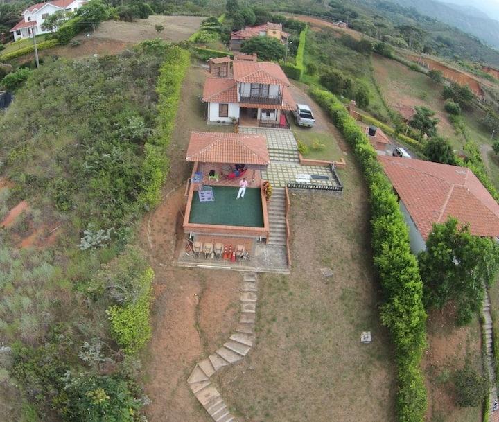 alojamiento familiar con vista en jamundi