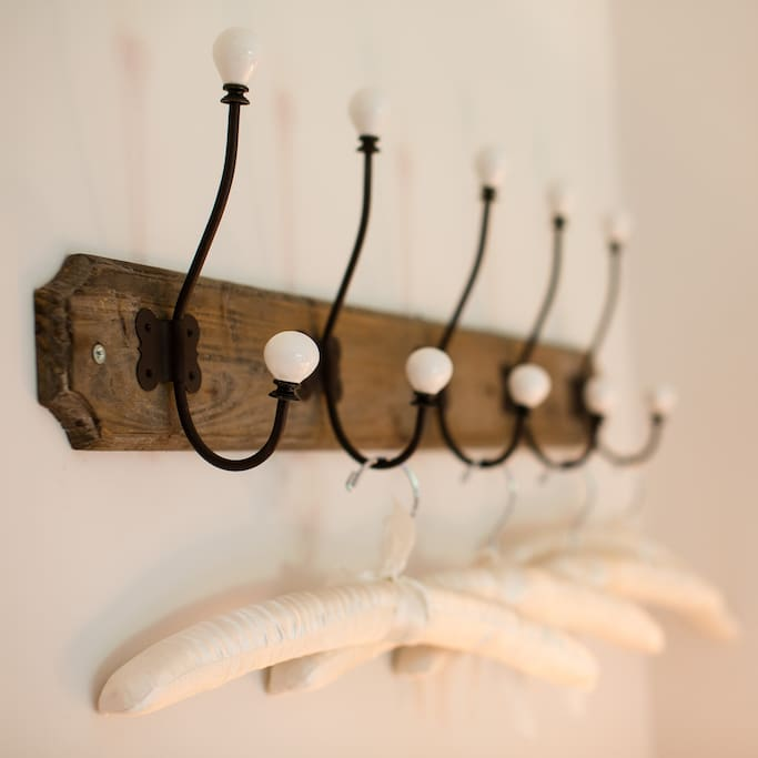 Beautiful hangers for your clothes