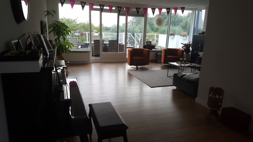 Spacious house, close to Schiphol and Amsterdam.