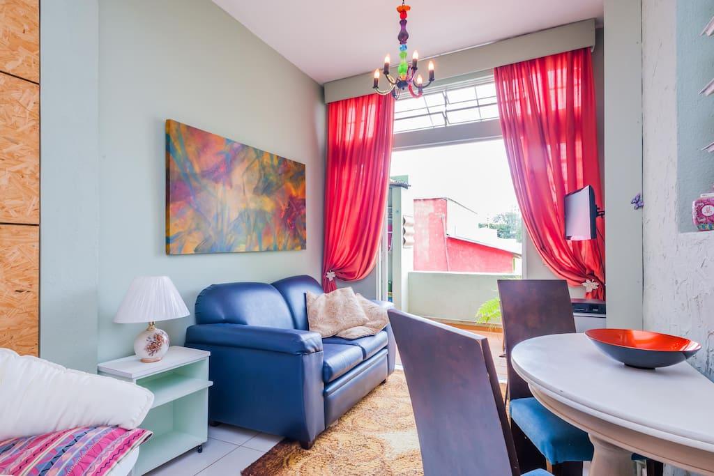 Living area. Sala.