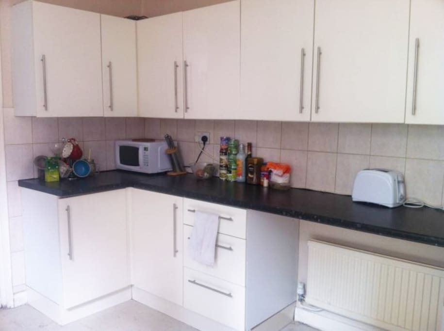 Fully equipped shared kitchen - great for cooking a quick meal after a long day of sightseeing.