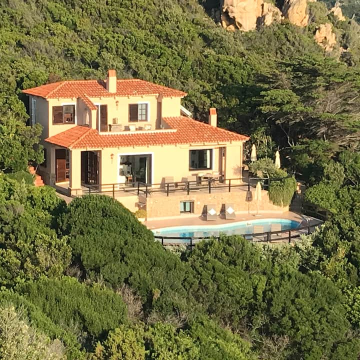 3 bed villa  private pool & spectacular sea views