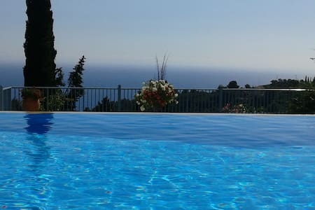 Beautiful see view Villa with pool - Pelekas