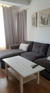 Apartamento en la costa, al lado de Sitges .