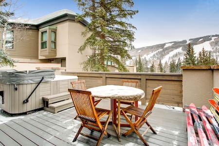 Mountain-View Alpine Retreat - 维尔 - 连栋住宅
