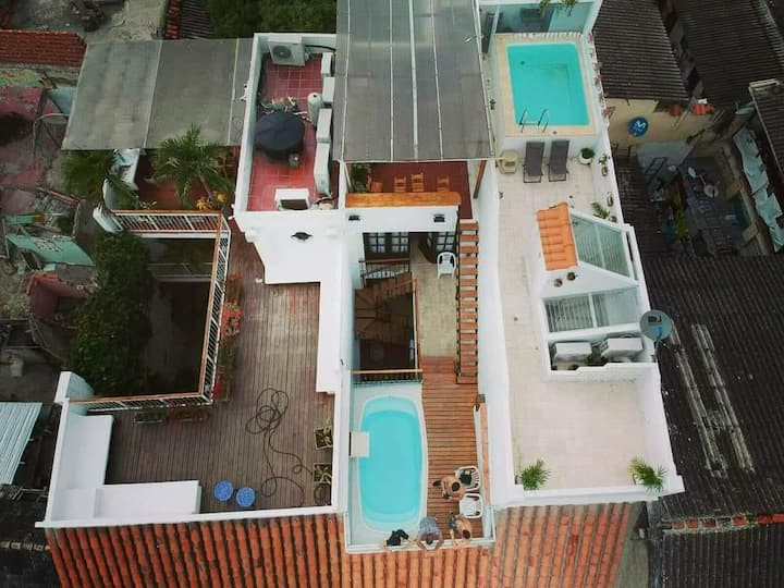 Private house in Getsemani Cartagena 4 rooms