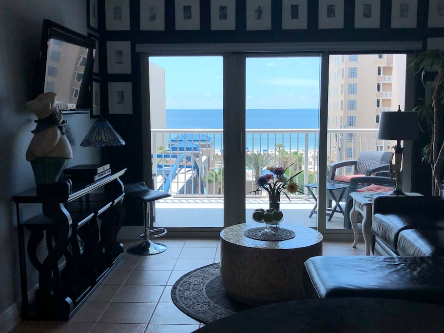 Your Vacation Home, With A View of, And Access To, The Gulf of Mexico!