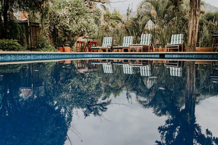 Habitación9 en el Corazón de Tepoztlán-Hotel Bout.