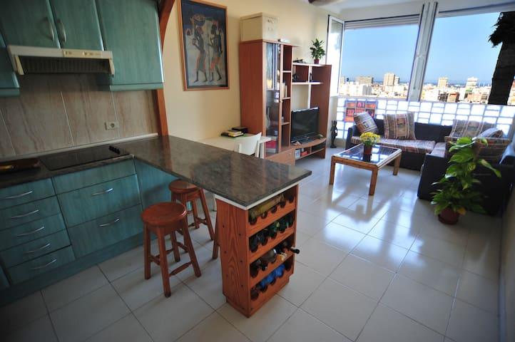 Cómodo Apartamento en medio de la ciudad - Les Palmes de Gran Canària