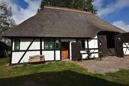 Gezellig vakantiehuis bij een boerderij in Biendorf