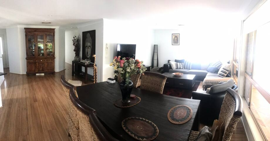 Beautiful room in modern household