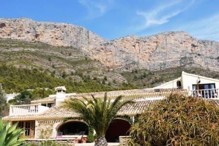 Beautiful house on the Montgo,  Javea - Villa