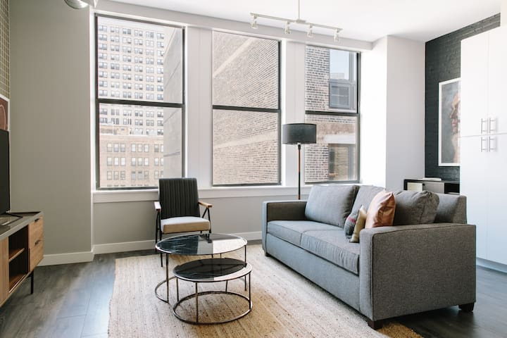 Sonder | Library Lofts | Chic 1BR + Rooftop