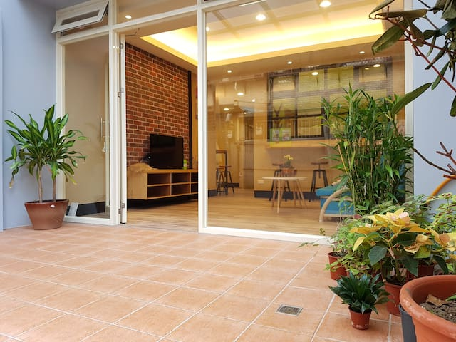 5min MRT@Shilin BrandNew Garden GroundFloor for1-8 - Shilin District - Apartment