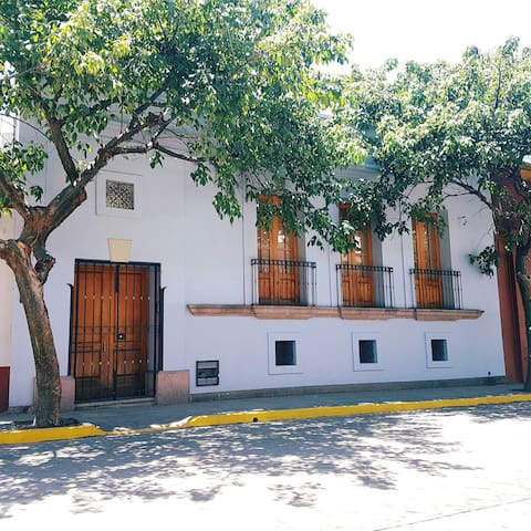 Colonial house in historic center of Oaxaca.