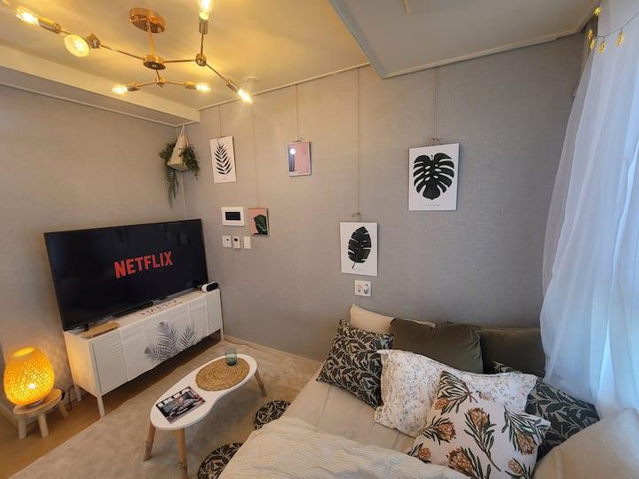 1.New 2min Bucheon stn /Netflix/Youtube/Free Wife