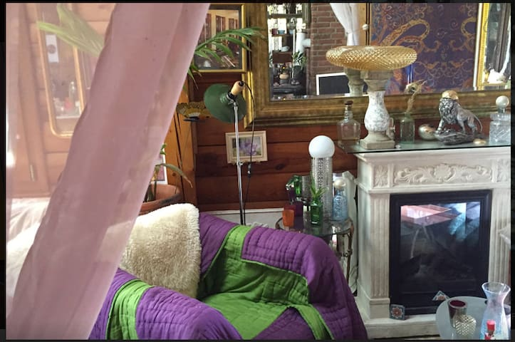 cozy home beautiful nature /gemütliches Ferienhaus - Waldalgesheim - Casa
