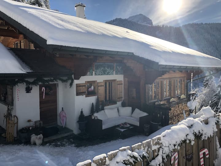 Cosy one bedroom chalet apartment in alpine nature