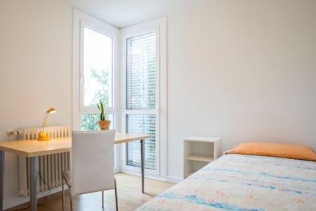 Habitación individual casa diseño - House