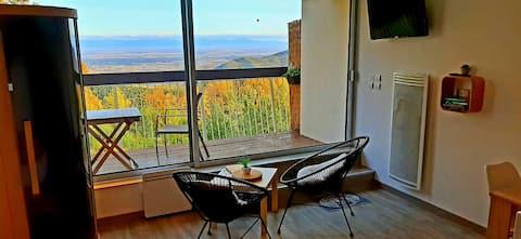 Studio avec sauna au calme à 15 min de Colmar