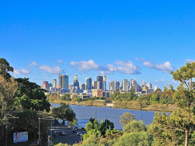 Riverside Self-contained Apartment - Toowong - Appartamento
