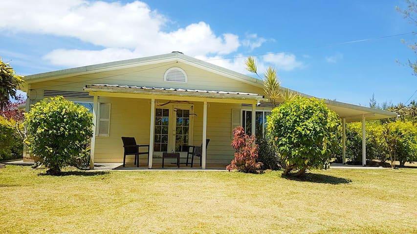 TUBUAI: Chambre & SDB privée, Calme, lagon - Tiare