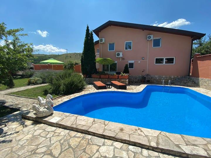 Private Riverside Villa Silvia