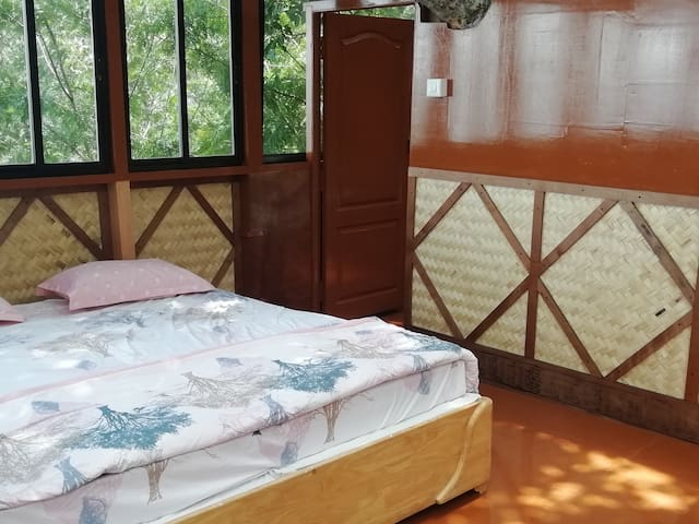 One king size double bed