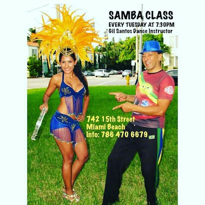 Free samba class call for appointment