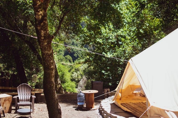 Forest Glamping Near The Beach